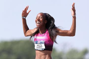 World and Olympic high jump silver medallist Brigetta Barrett (Getty Images)