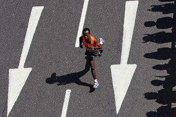 Ethiopian marathon runner Tsegay Kebede (Getty Images)