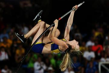 Sweden's Elienor Werner at the IAAF World Youth Championships, Cali 2015 (Getty Images)