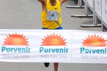 1:02:31 course record for Deriba Merga in Bogota (Sean Wallace-Jones)