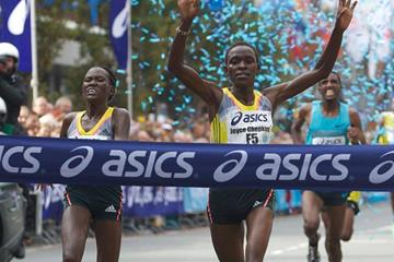 Joyce Chepkirui wins the 2013 Dam tot Damloop in Zaandam (Organisers)