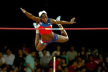 Yarisley Silva in the pole vault final at the IAAF World Championships, Beijing 2015 (Getty Images)