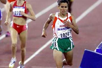 Nouria Merah- Benida (ALG) winning in Sydney (Getty Images)