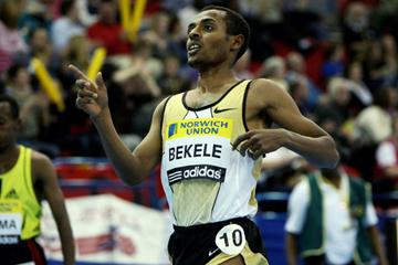 World 2 Mile best for Kenenisa Bekele in Birmingham (Getty Images)