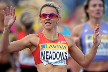 Big win for Jenny Meadows in London (Mark Shearman)