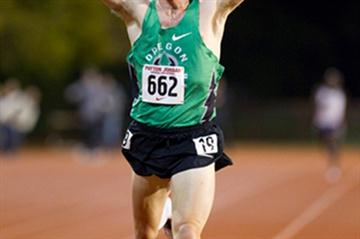 A memorable debut - American Chris Solinsky clocks 26:59.60 Area record in Palo Alto (Don Gosney)
