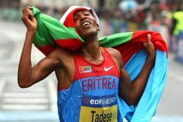 Tadese jubilant after fourth success in Birmingham (Getty Images)
