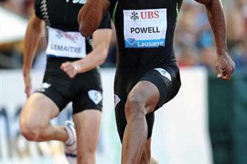 Asafa Powell speeds to 9.78sec in Lausanne (Giancarlo Colombo)