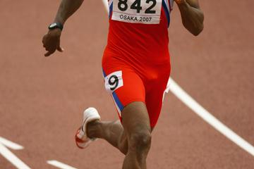 Eric Milazar at the 2007 World championships in Osaka (Getty Images)