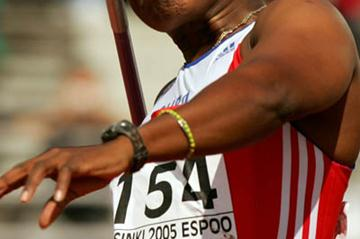 Osleidys Menendez of Cuba automatically qualifies for the Javelin Throw final (Getty Images)
