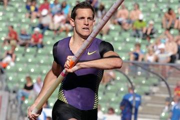 Renaud Lavillenie in Oslo (Mark Shearman)