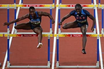 Dawn Harper on her way to Olympic 100m hurdles gold (Getty Images)