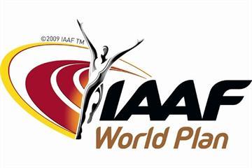 IAAF Athletics World Plan logo (IAAF.org)