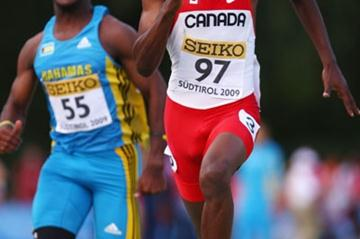 Aaron Brown of Canada (Getty Images)