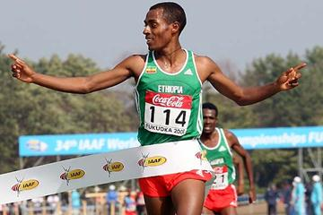 Bekele wins the Long Race (Getty Images)