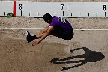 Fabrice Lapierre in action at the Australian Championships in Sydney (Getty Images)