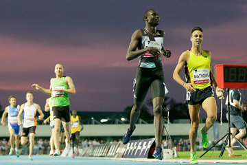David Rudisha wins the 800m in Melbourne (Getty Images)