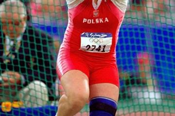 80 Years of Women Athletics at Olympic Games - Kamila Skolimowska - 2000 (Getty Images)