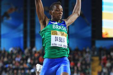 Mauro Vinicius Da Silva of Brazil competes in the Men's Long Jump Final during day two - WIC Istanbul (Getty Images)