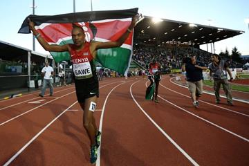 1500m winner Jonathan Sawe at the IAAF World Junior Championships, Oregon 2014 (Getty Images)