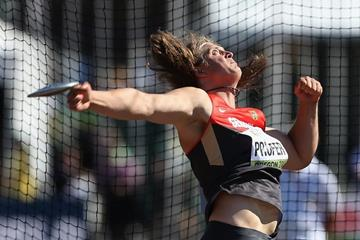 Henning Prufer in the discus at the IAAF World Junior Championships, Oregon 2014 (Getty Images)