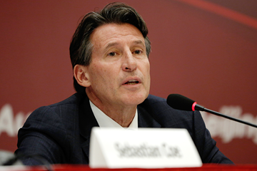 IAAF President Sebastian Coe (Getty Images)