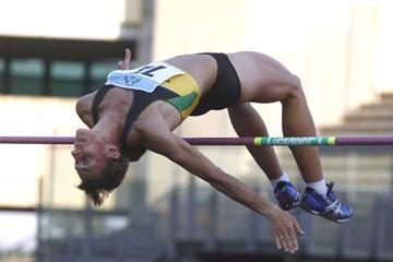 Antonietta Di Martino jumps in Padua at the Italian Champs (Giancarlo Colombo)