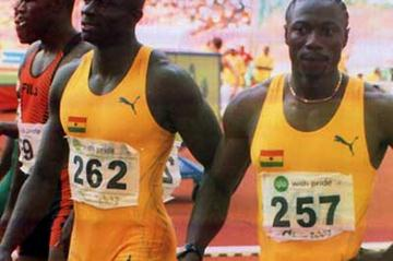 African Games - Ghana's sprint relay Gold medal winners (Olukayode Thomas)