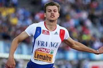 Christophe Lemaitre defends his European 100m title (Getty Images)