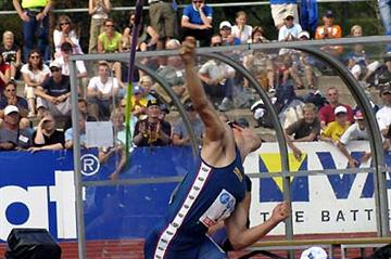 Tero Pitkämäki at the Finnish Champs - Pori (Paula Noronen)