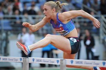 Sally Pearson flies to 12.40sec victory in Paris (Jean-Pierre Durand)