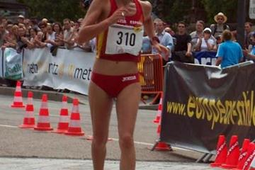Maria Vasco - Women 20km Winner in Metz (Paul Warburton)