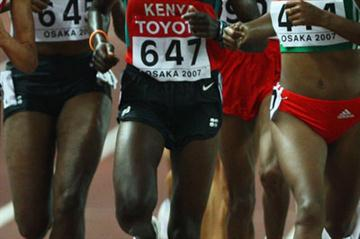 Philes Ongori in Osaka (Getty Images)