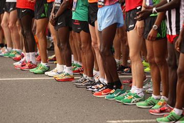 Marathon runners on the start line (Getty Images)