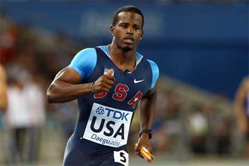 American sprinter Travis Padgett (Getty images)