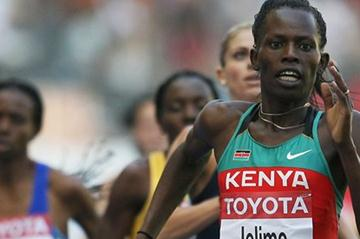 Pamela Jelimo at the 2009 IAAF World Championships in Berlin (Getty Images)