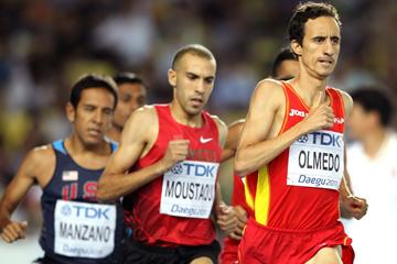 800m Spanish runner Manuel Olmedo (Getty Images)