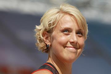 German javelin thrower Christina Obergfoll (Getty Images)