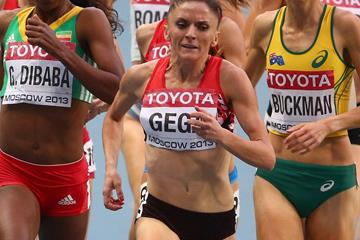 Albanian middle-distance runner Luiza Gega (Getty Images)