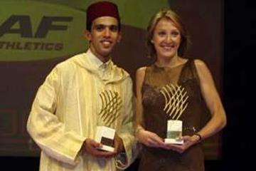 Hicham El Guerrouj and Paula Radcliffe - 2002 World Athletes of the Year (Getty Images)