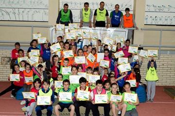 IAAF / Nestlé Kids' Athletics at the National Sport Academy in the capital city of Sofia, Bulgaria (c)