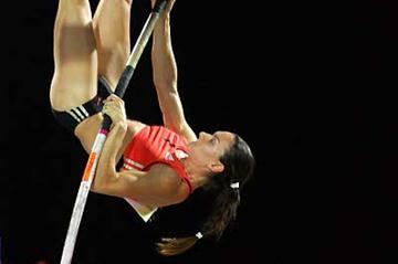 Yelena Isinbayeva (RUS) (Getty Images)
