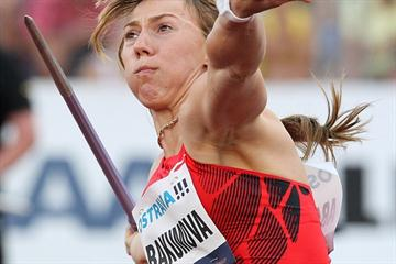 Maria Abakumova going for victory in Ostrava (graf.cz)