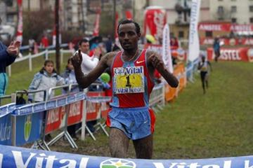 Tariku Bekele wins 2008 XC in Llodio, Spain (José Montes)