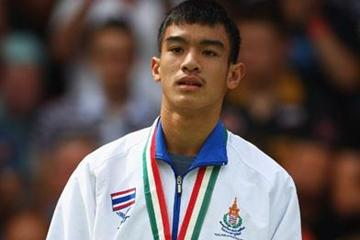 Supanara S.N.A. of Thailand wins the gold medal (Getty Images)