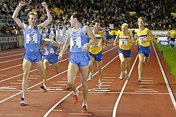The Finns take the overall men's match with a 1, 2 finish in the 1500m (Juha Sorri)