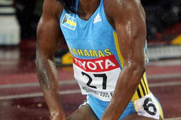 Tonique Williams-Darling can hardly believe she won gold in the 400m (Getty Images)