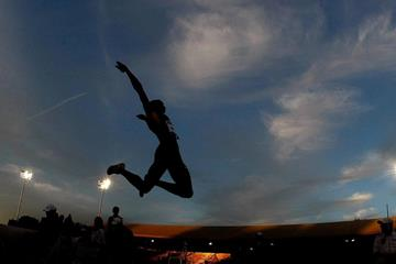 Mauro Vinicius Da Silva at the IAAF Diamond League meeting in Eugene (Getty Images)
