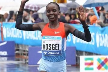 Irene Kosgei Jerotich wins in Milan in 2012 (Giancarlo Colombo)