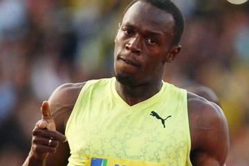 Usain Bolt wins the 100m in London (Getty Images)